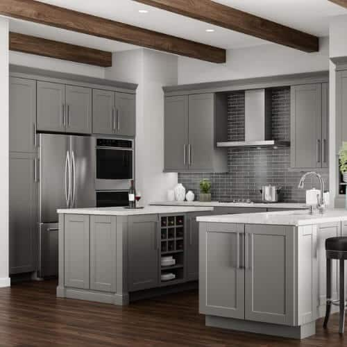 cabinet color - gray/neutral collection