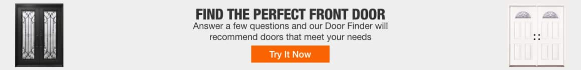 Find the perfect front door