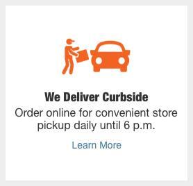 We Deliver Curbside