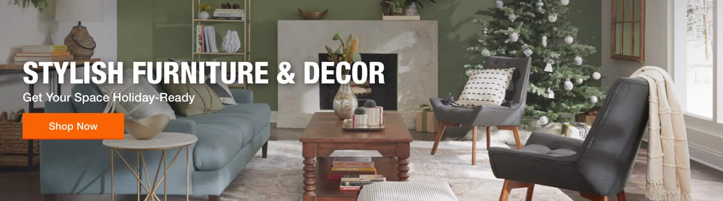 Stylish Furniture & Decor Get Your Space Holiday-Ready