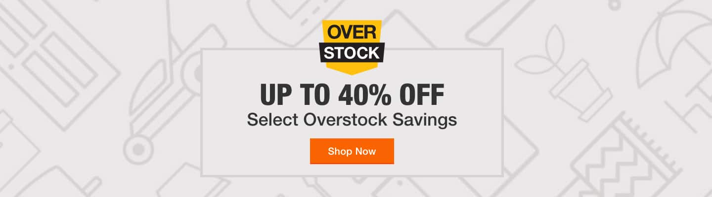Up to 40% Off Select Overstock Savings