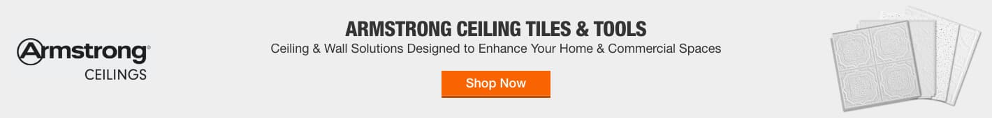 ARMSTRONG CEILING TILES & TOOLS - Ceiling and wall solutions designed to enhance your home and commercial spaces > Shop Now