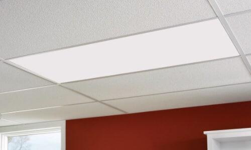 panel lighting in drop ceiling
