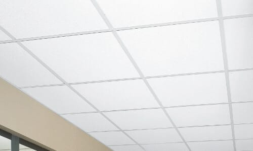 smooth ceiling tiles