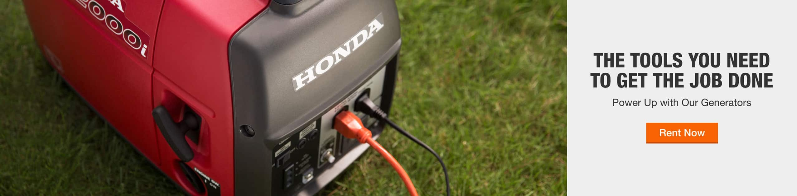 THE TOOLS YOU NEED TO GET THE JOB DONE - Power Up with Our Generators - Rent Now