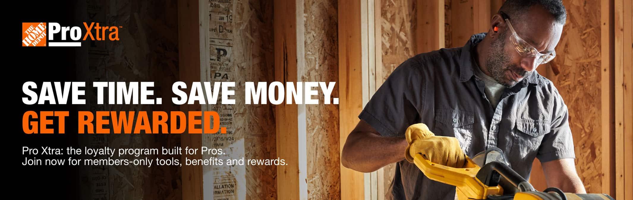 Save time. Save money. Get rewarded.