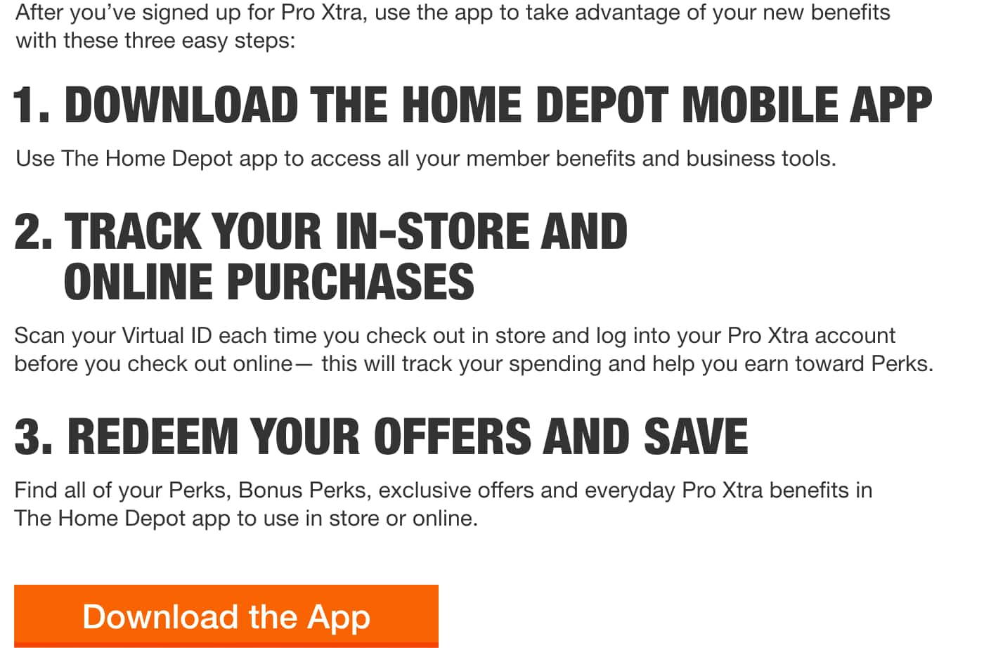 After you've signed up for Pro Xtra, use the app to take advantage of your new benefits with these three easy steps: