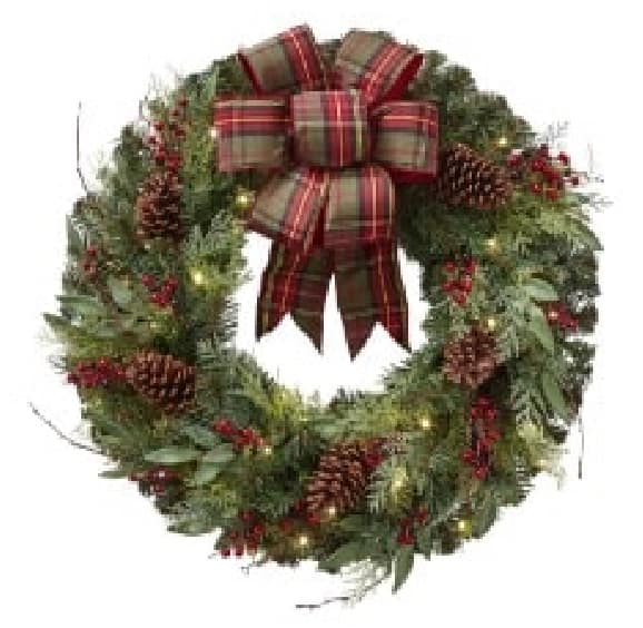 Decorated Wreaths