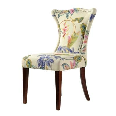 Paradise Floral Upholstered Accent Chair