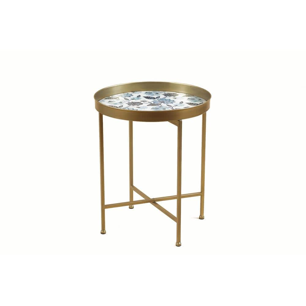 Classic Floral Drink Table
