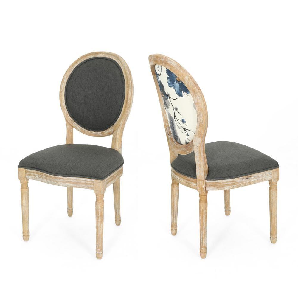 Phinnaeus Farmhouse Floral Chairs