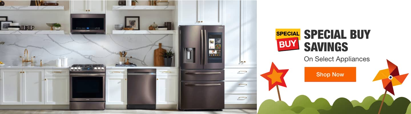 SPECIAL BUY SAVINGS On Select Appliances Shop Now