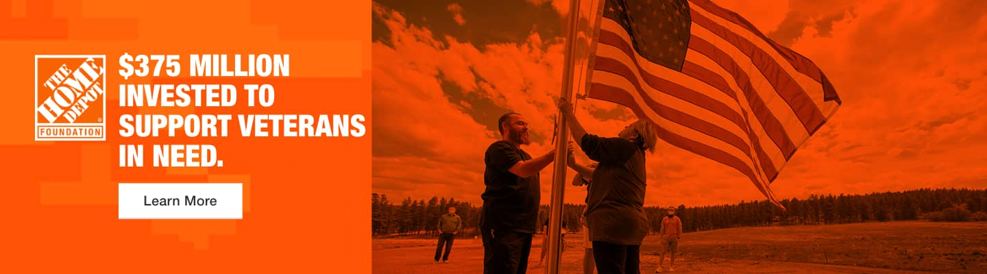 $375 million invested to support veterans in need.