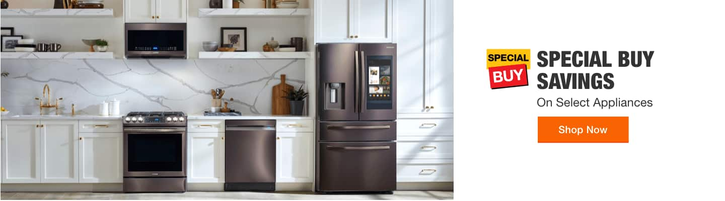 """""""SPECIAL BUY SAVINGS On Select Appliances Shop Now"""""""