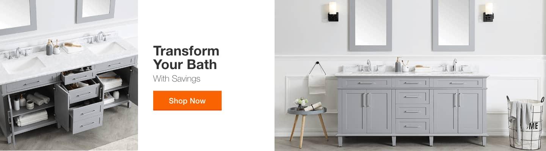 """TRANSFORM YOUR BATH With Savings"""