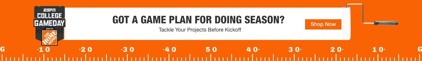 Got a Game Plan for Doing Season? Tackle Your Projects Before Kickoff. Shop Now