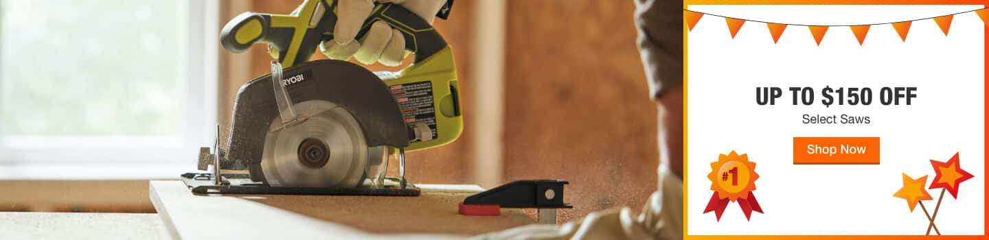 UP TO $150 OFF Select Saws