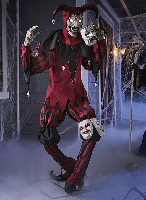 Animated 3-Faced Jester
