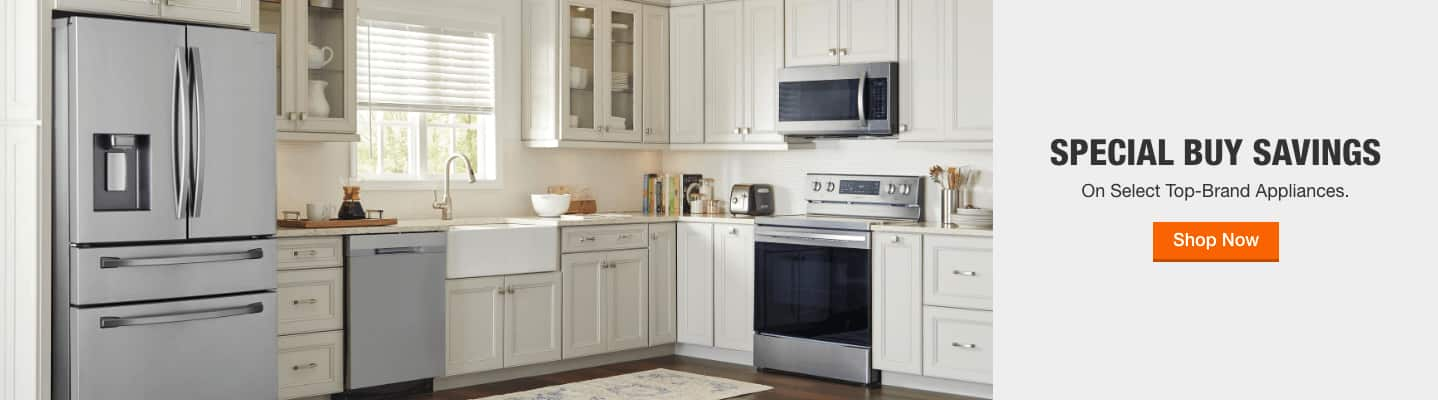 SPECIAL BUY SAVINGS on Top-Brand Appliances. Shop Now.