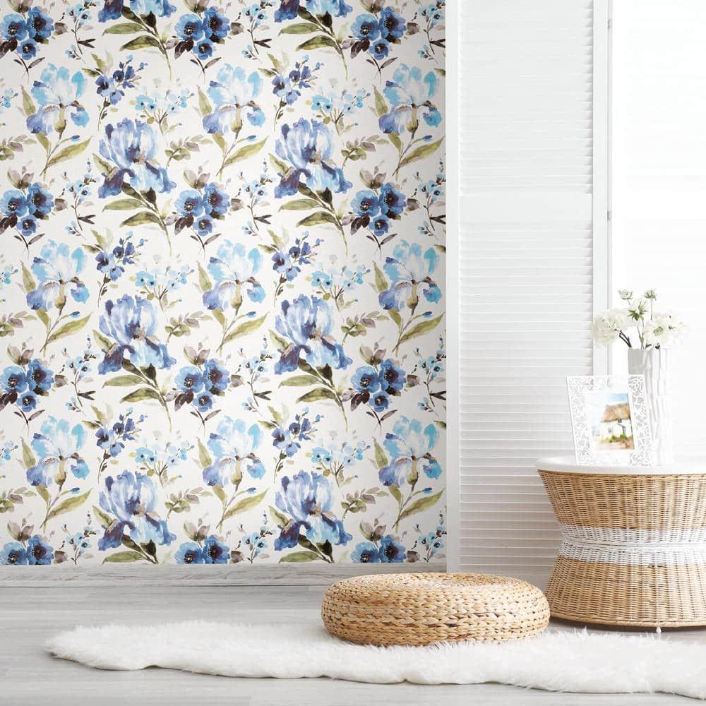 Iris Peel and Stick Wallpaper