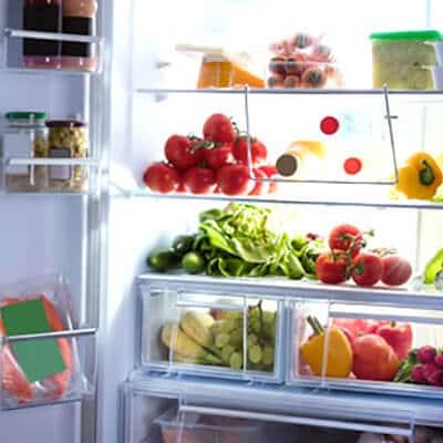 Refrigerator temperature guide