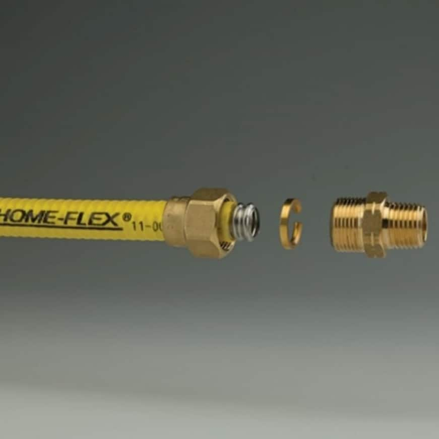 Easy to use fittings