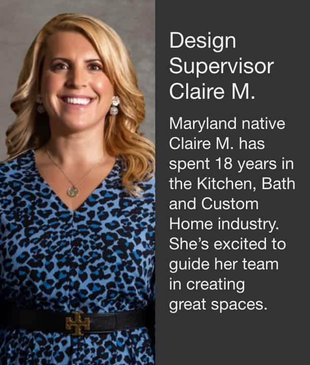 Design Supervisor Claire M.