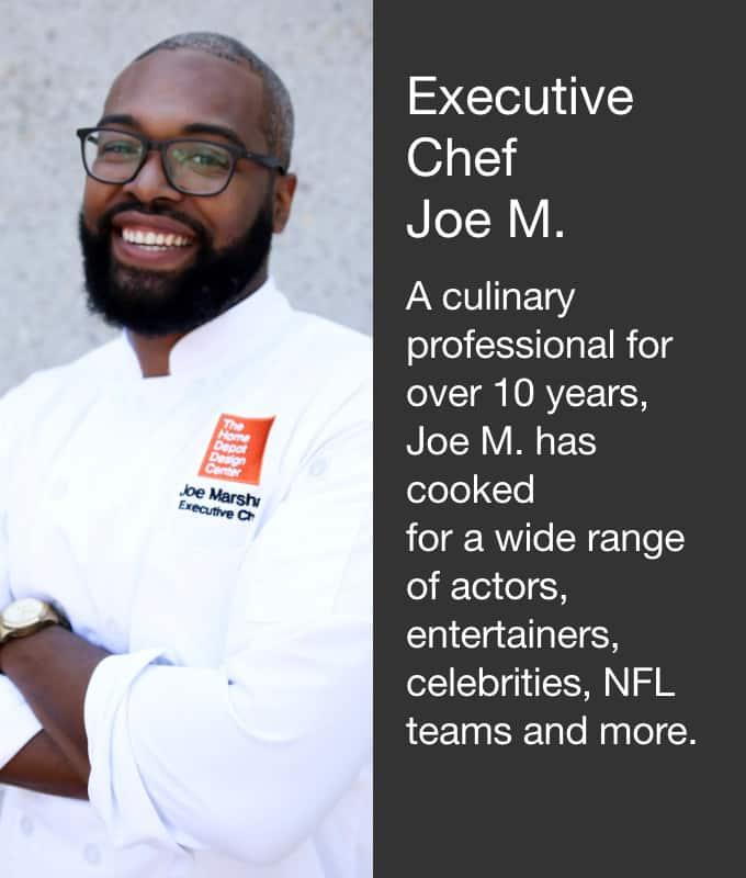 Executive Chef Joe M.
