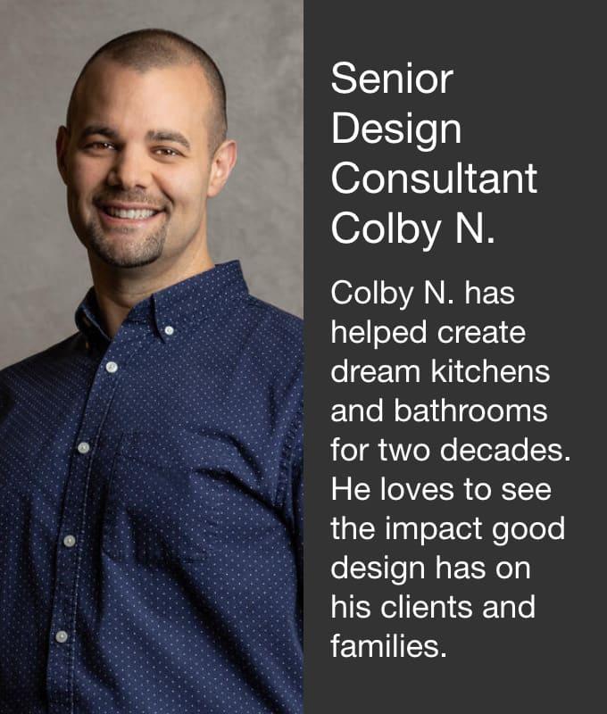 Senior Design Consultant Colby N.