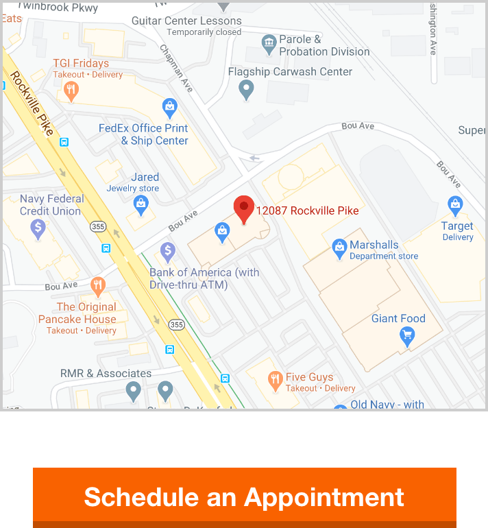 Rockville Map with Scheduling