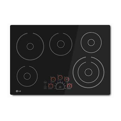 5 burner cooktop