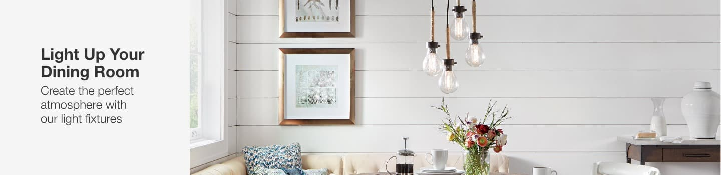 light up your dining room