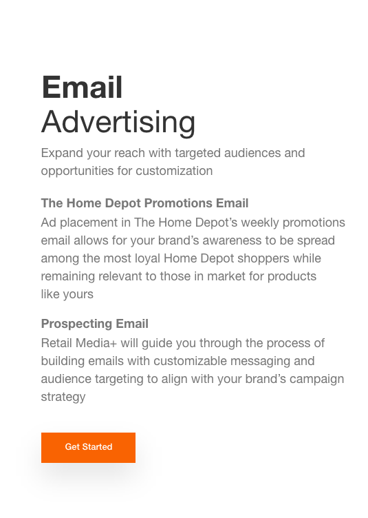 Email Advertising  Expand your reach with targeted audiences and opportunities for customization