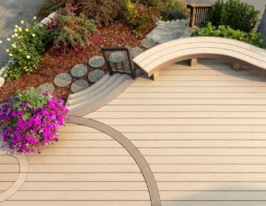 Custom Composite Decking Boards