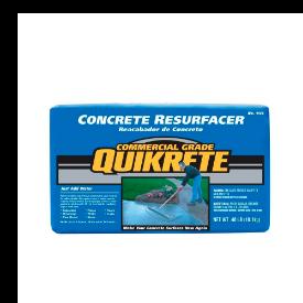 Resurfacing & leveling concrete resurfacer