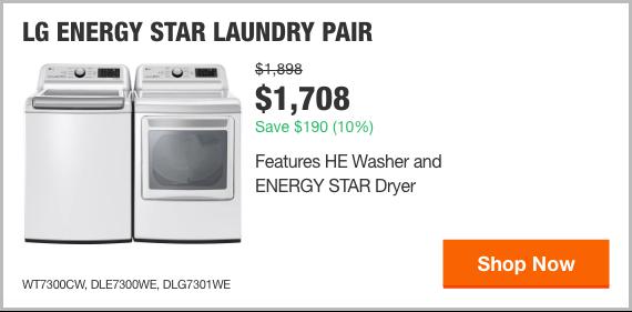 LG ENERGY STAR Laundry Pair