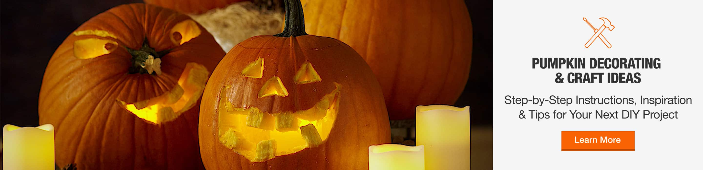 Pumpkin Decorating & Craft Ideas