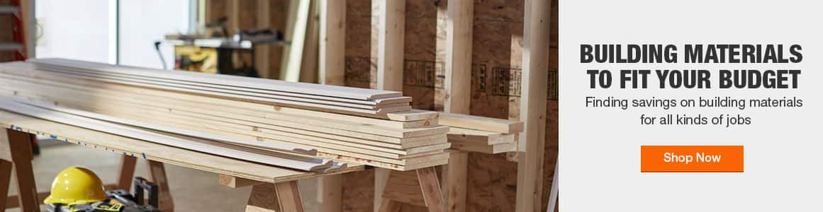 Building materials from brands you trust