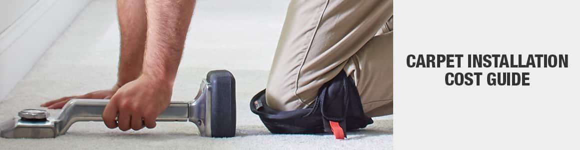 Carpet installation cost guide