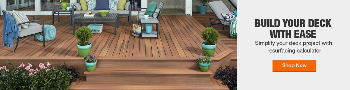 BUILD YOUR DECK WITH EASE