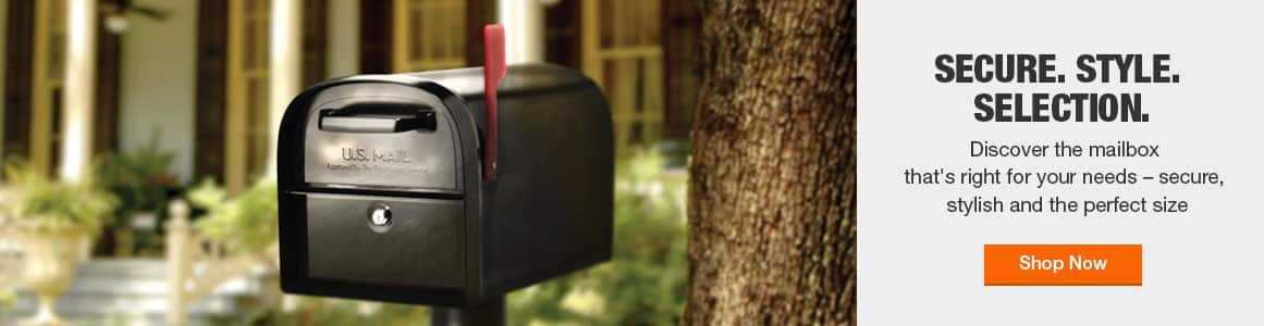 Discover the mailbox that's right for your needs