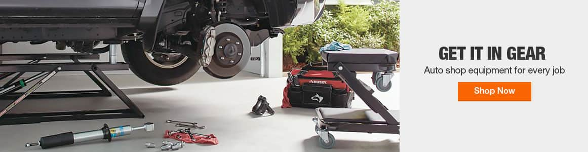 Auto shop equipment for every job