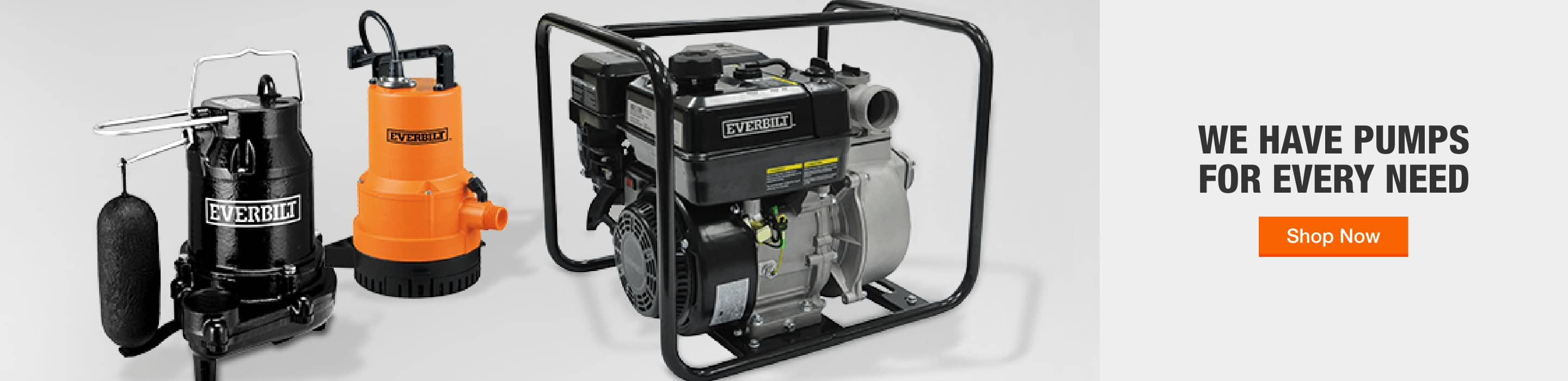 We have pumps for every need
