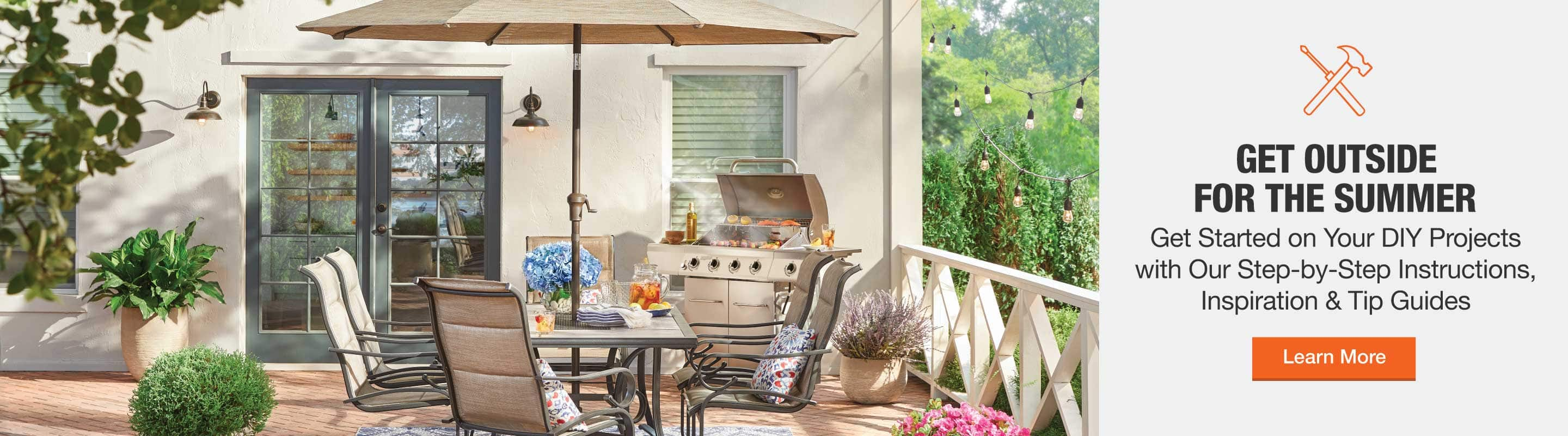 Get outside for the summer and get started on your DIY projects