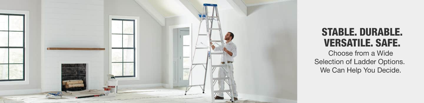 Choose from a wide selection of ladder options