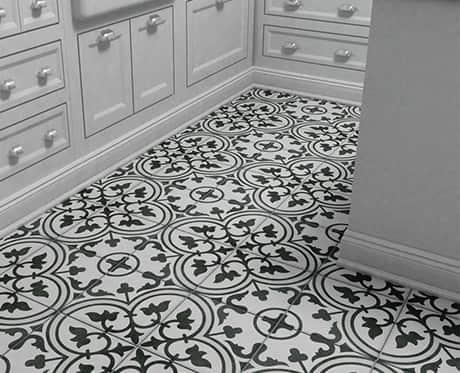 Encaustic-Look Tile
