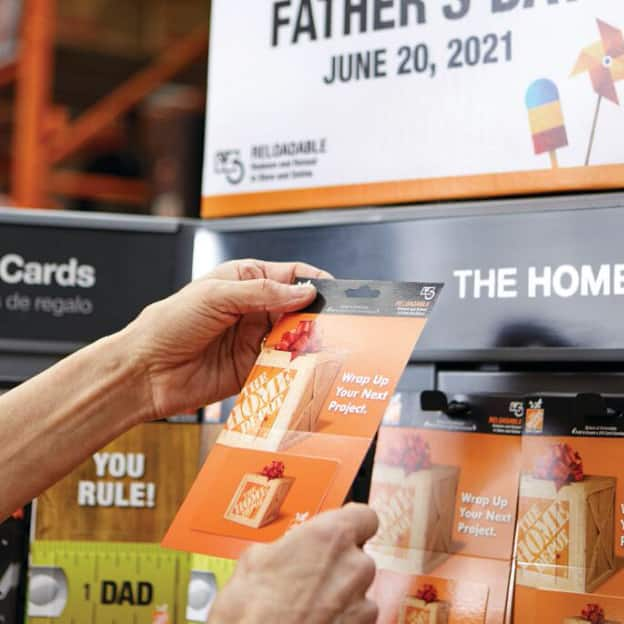 Gift Cards to Make Dad's Day