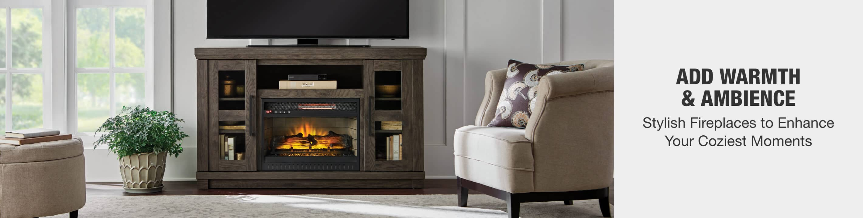 Add Warmth & Ambience - Stylish Fireplaces to Enhance Your Coziest Moments