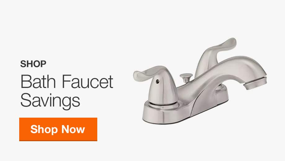 Bath Faucet Savings