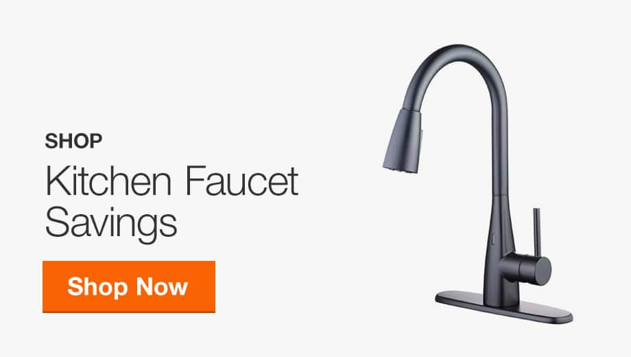 Kitchen Faucet Savings